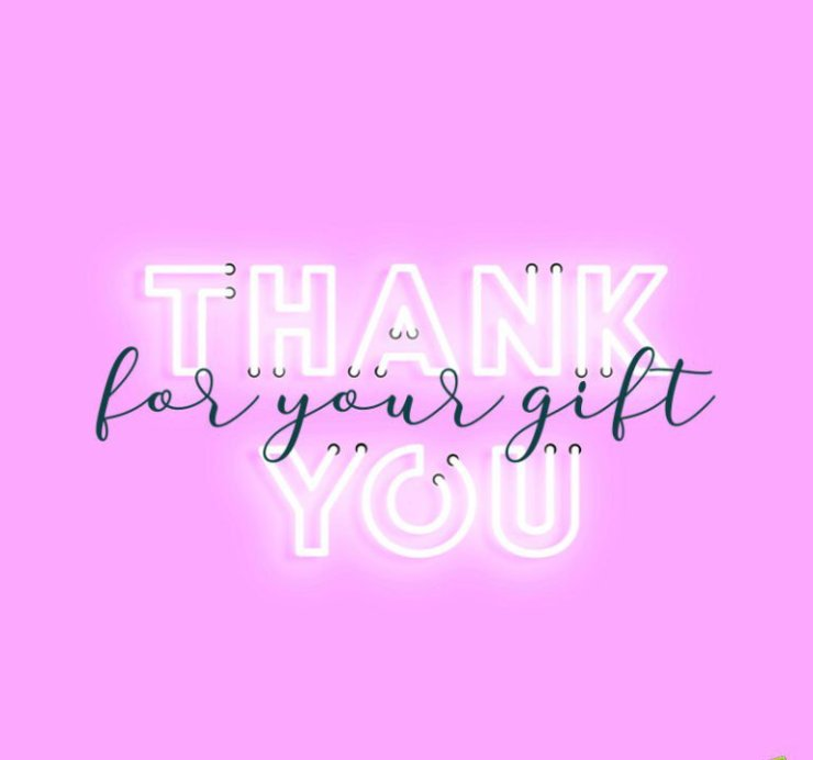 thank you messages for receiving a gift3