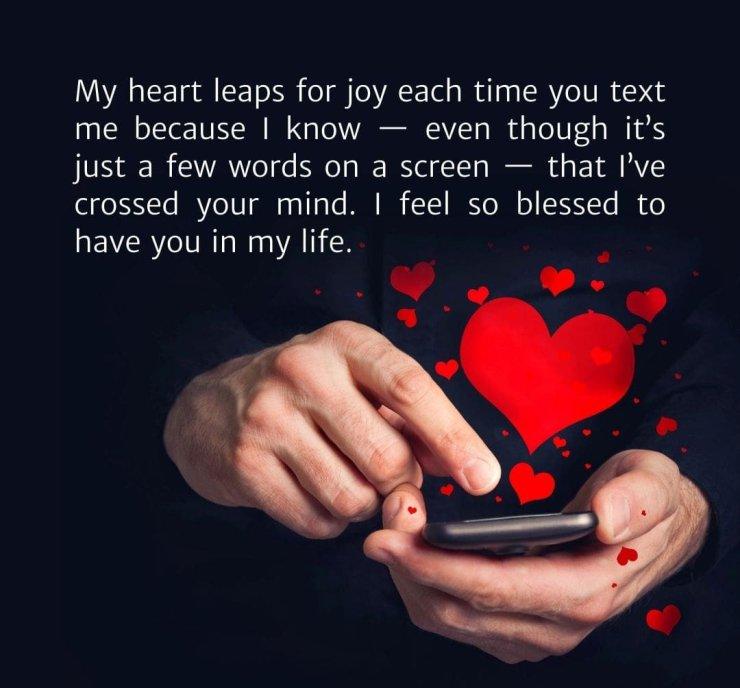 long love paragraphs for him