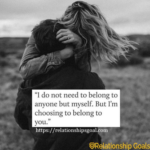 Best Relationship Goals Quotes