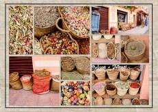 Scrapbook pages: Marrakech colors