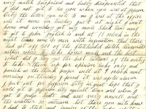 Private Voices: a unique collection of American Civil War letters