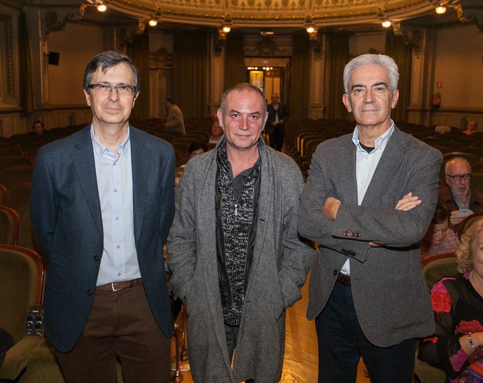 premios literarios. Bidebarrieta Kulturgunea. Cesar coca, basilio Baltasar, Xuan Bello