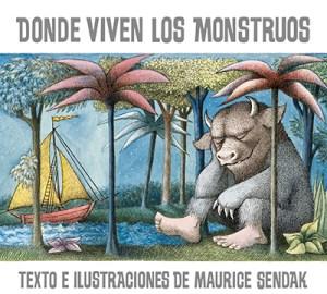 donde viven los monstruos, literatura infantil, maurice sendak