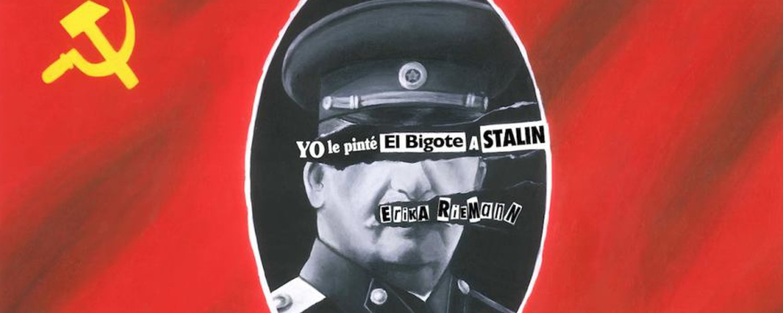 yo le pinte el bigote a stalin