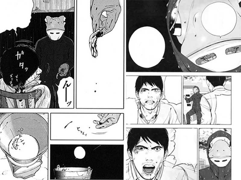Museum-The-Serial-Killer-is-Laughing-in-the-Rain-manga-relatos-escritos