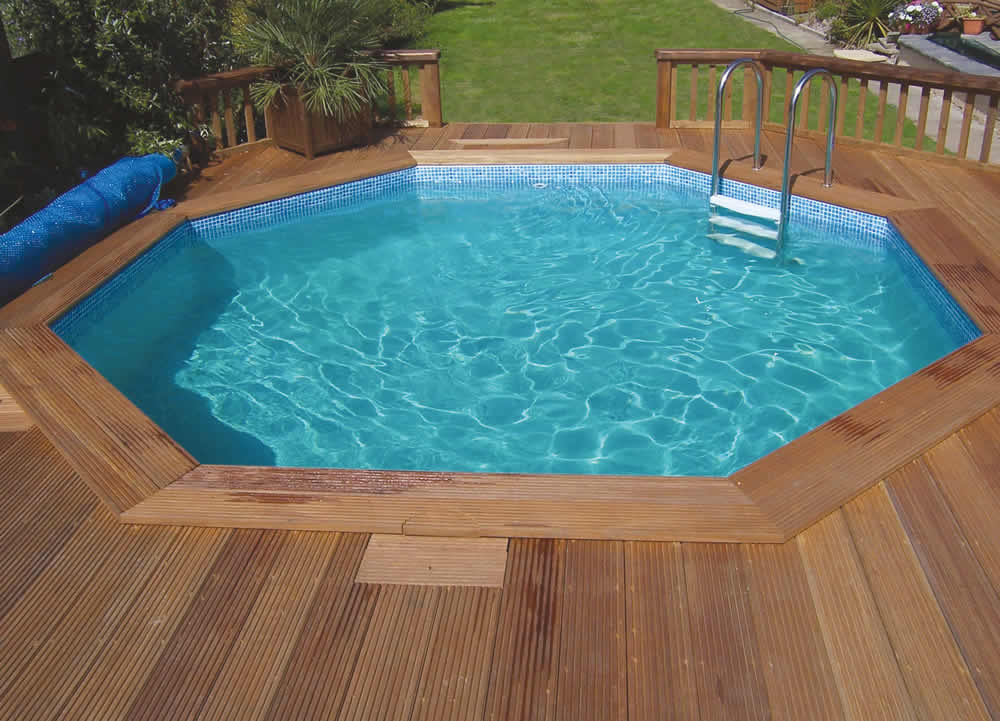 wooden pool at Relax Essex sale
