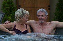 Fantasy Splendor round hot tub from Relax Essex