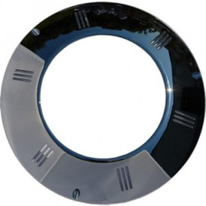 In Ground LED Light Chrome Facia Ring