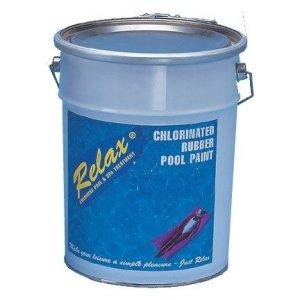 Rubber Pool Paint  Light Blue Chlorine 5kg