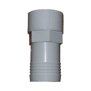 1.5in Hosetail Threaded 50mm White ppf12210