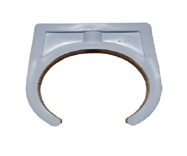 2in Pipe Clip White Pack Of 25