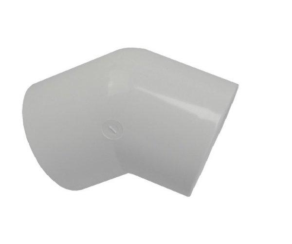 2in 45 Deg Elbow P P White Pack Of 10