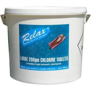 Relax 200g Chlorine Tabs 10kg