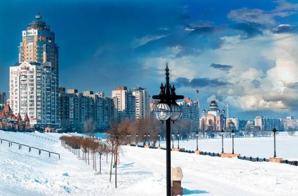 Места для фотосессий зимой в Киеве