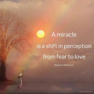 7 A miracle is a shift in perception