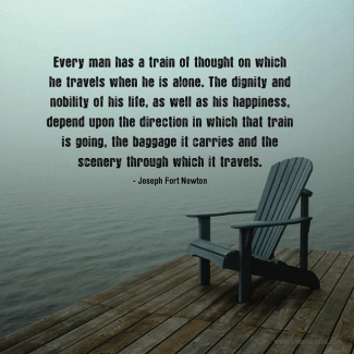 38 Relax and Succeed - Every man has a train of thought