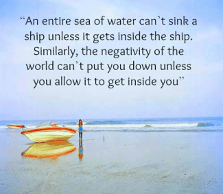 63 Relax and Succeed - An entire sea of water can't sink a ship