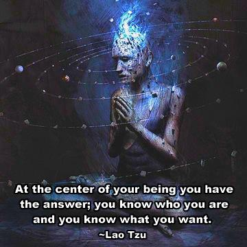 126 Relax and Succeed - At the center of your being