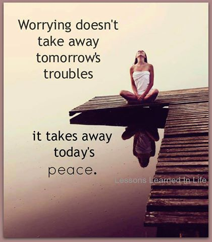 164 Relax and Succeed - Worrying doesn't take away