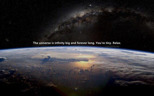 185 Relax and Succeed - The universe is infinity