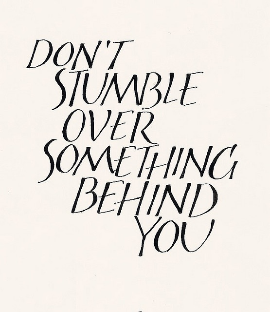 199 Relax and Succeed - Don't stumble over something