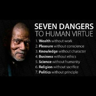 246 Relax and Succeed - Seven dangers to human virtue