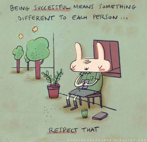 257 Relax and Succeed - Being successful means something
