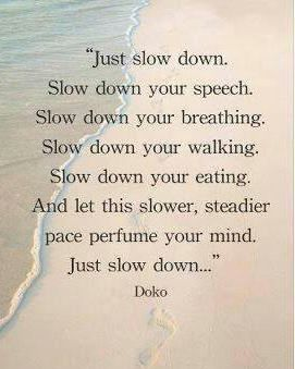 258 Relax and Succeed - Just slow down