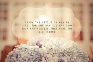277 Relax and Succeed - Enjoy the little things