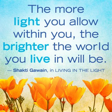 296 Relax and Succeed - The more light you allow