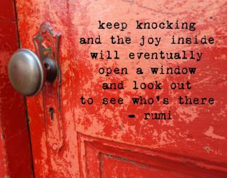 374 Relax and Succeed - Keep knocking and the joy inside