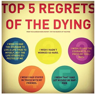 394 Relax and Succeed - Top 5 regrets of the dying