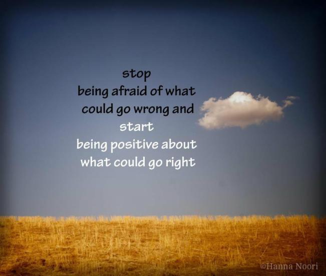 416 Relax and Succeed - Stop being afraid