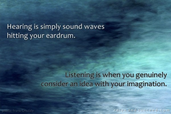 421 Relax and Succeed - Hearing is simply sound waves