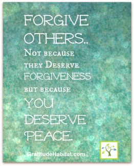 430 Relax and Succeed - Forgive others not because they deserve forgiveness