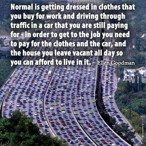 452 Relax and Succeed - Normal is getting dressed in clothes