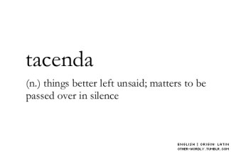 529 Relax and Succeed - Tacenda things better left unsaid