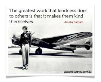 557 Relax and Succeed - The greatest work that kindness does