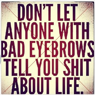 564 Relax and Succeed Rebuttal - Don't let anyone with bad eyebrows