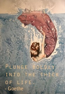 594 Relax and Succeed - Plunge boldly into the thick