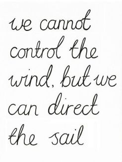 599 Relax and Succeed - We cannot control the wind