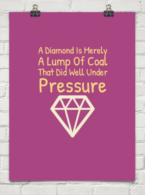 609 Relax and Succeed - A diamond is merely a lump of coal