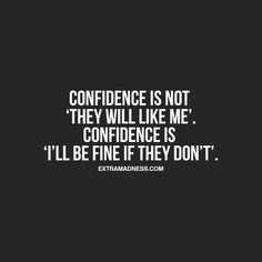 609 Relax and Succeed - Confidence is not they will like me