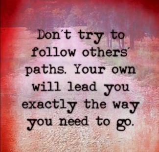 713 Relax and Succeed - Don't try to follow others paths