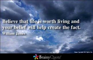 774 Relax and Succeed - Believe that life is worth living
