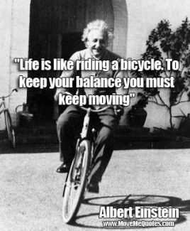 880 Relax and Succeed - Life is like riding a bicycle