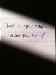 929 Relax and Succeed - Don't let your struggle become your identity