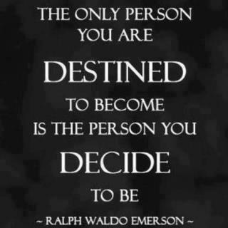 940 Relax and Succeed - The only person you are destined to become