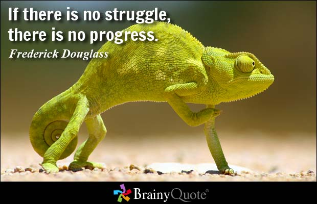 1158 Relax and Succeed - If there is no struggle