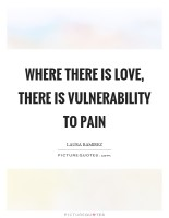 The Value of Pain